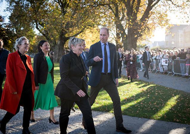 الأمير ويليام في نيوزيلندا
