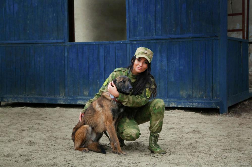 جندي أول كريستينا تسيغانوفا، من مدينة روستوف على الدون