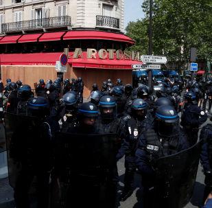 قوات الشرطة الفرنسية