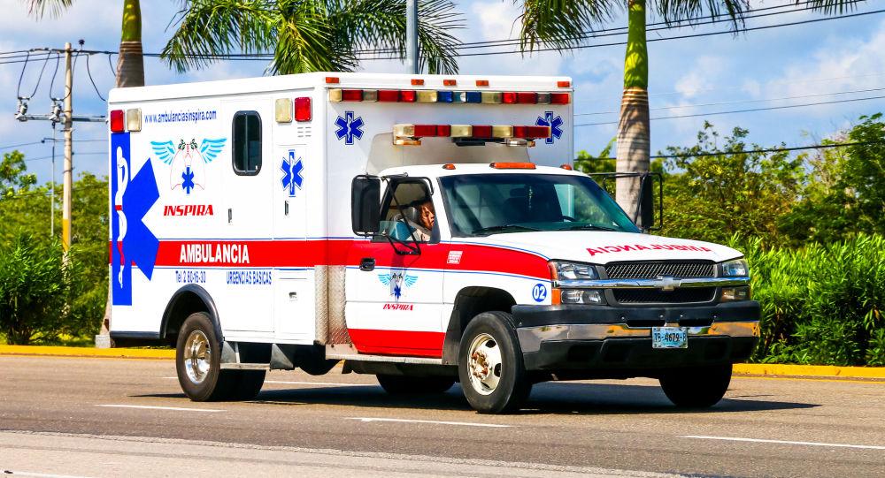 سيارة اسعاف مكسيكية