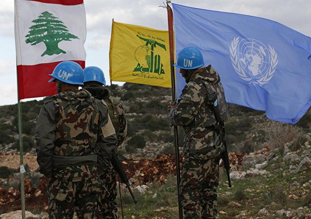 القوات الدولية اليونيفيل في جنوب لبنان