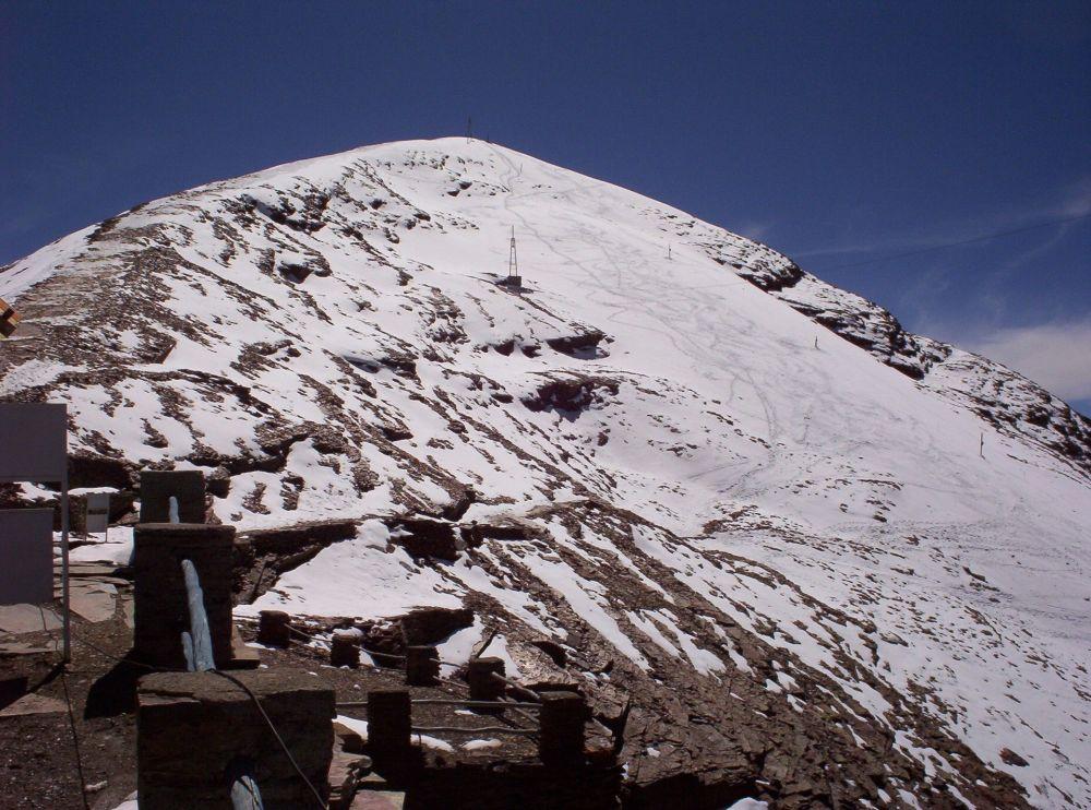 تشاكالتاي الجليدي، بوليفيا، عام 2005
