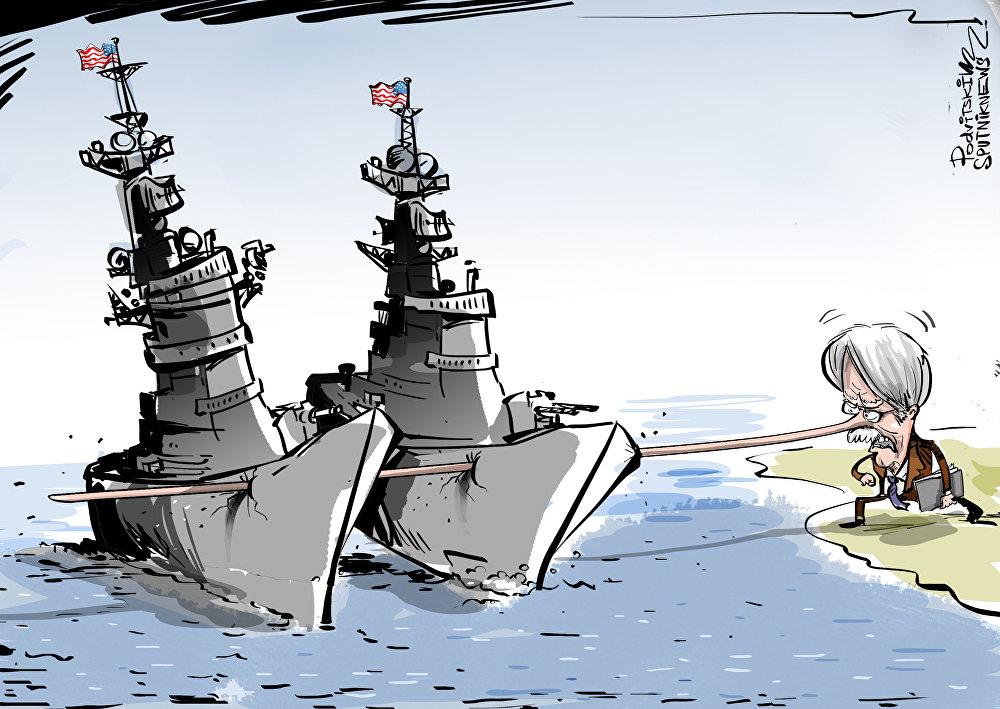 إرسال حاملة طائرات إلى شواطئ إيران تهويش من عيار ثقيل