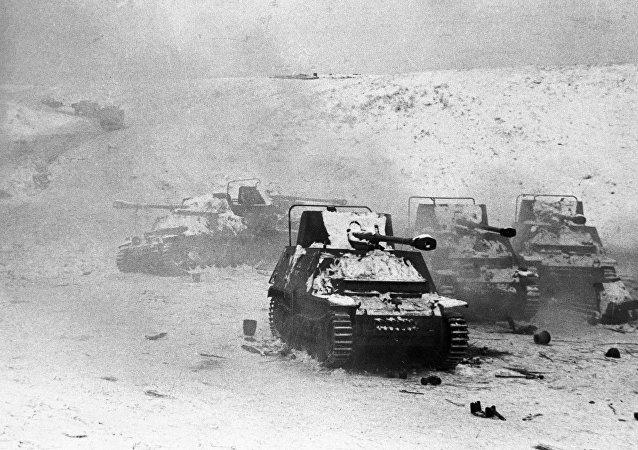 دبابات ألمانية مدمرة