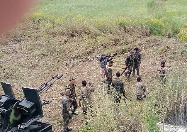 الجيش السوري يوقع عشرات الإرهابيين الصينيين بكمين محكم شمال غرب حماة