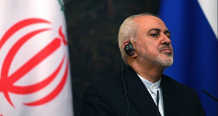 وزير الخارجية الروسية سيرغي لافروف ونظيره الإيراني محمد جواد ظريف، 8 مايو/ أيار 2019