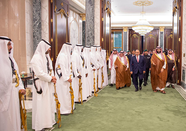 ولي العهد السعودي الأمير محمد بن سلمان يلتقي برئيس الوزراء العراقي عادل عبد المهدي في الرياض