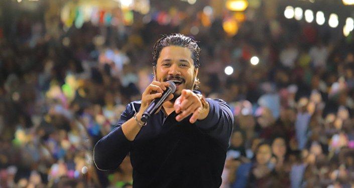 المطرب المصري مصطفى حجاج
