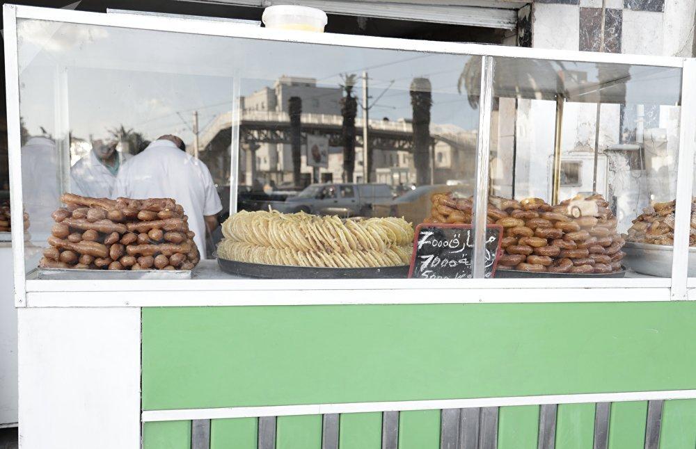 شهر رمضان في تونس: محل الحلويات الرمضانية في تونس