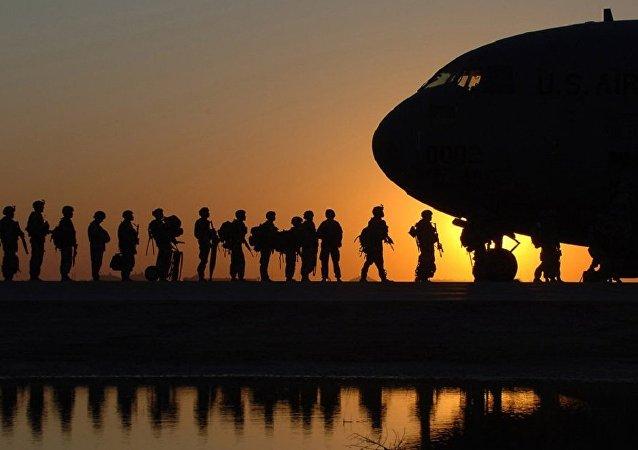 قاعدة البلد الجوية في العراق