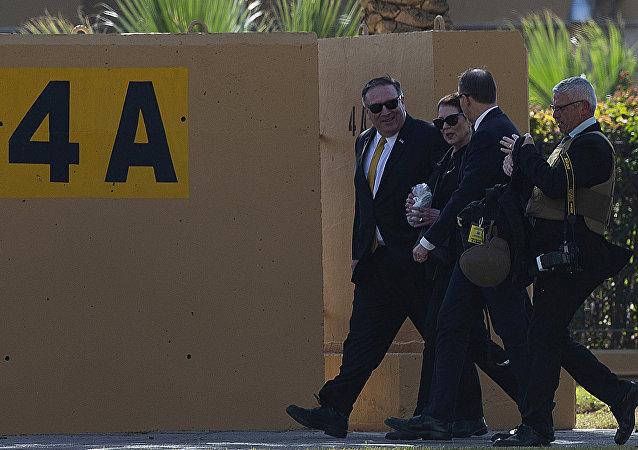 وزير الخارجية الأمريكي مايك بومبيو يزور العراق