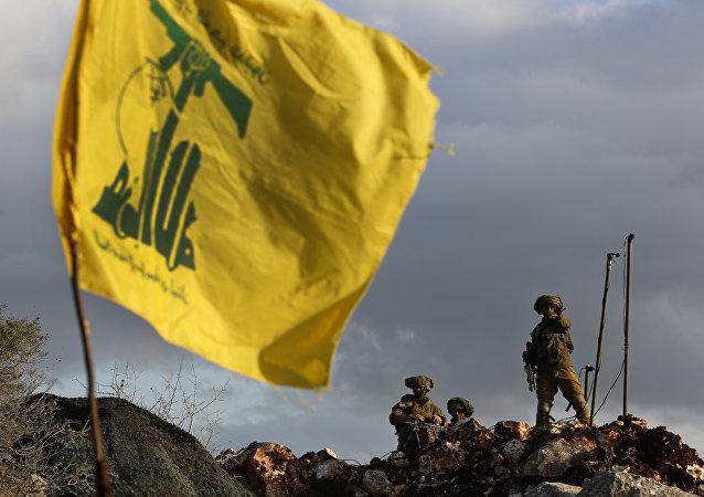 حزب الله على الحدود اللبنانية الإسرائيلية