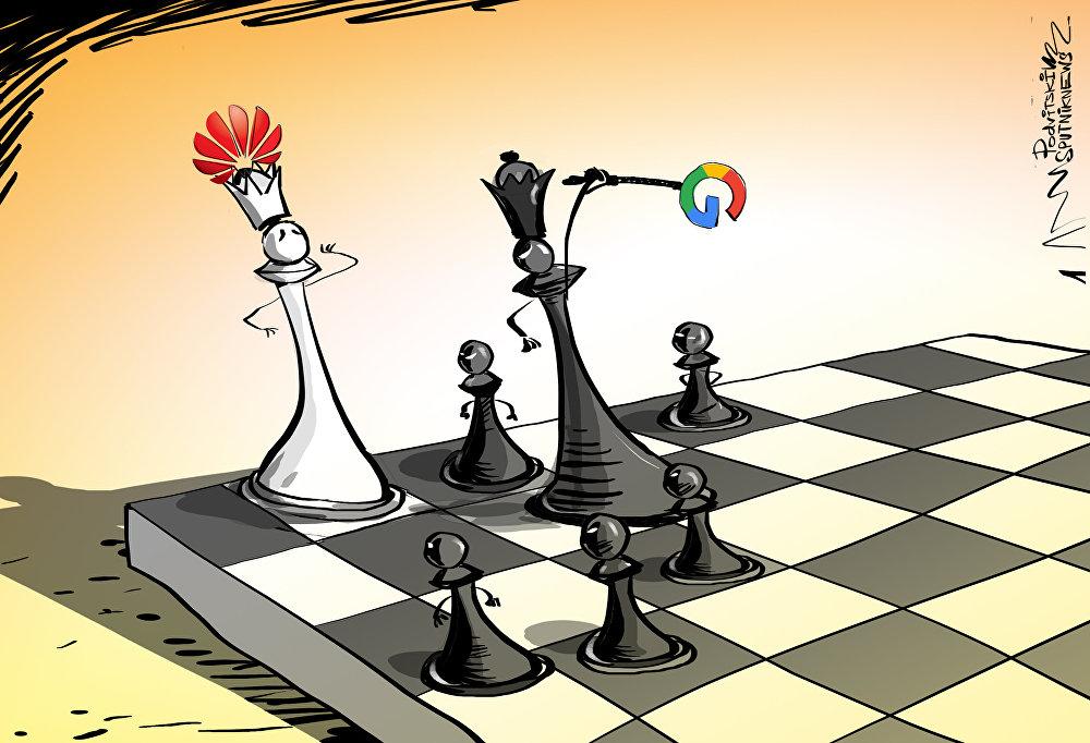 غوغل تضرب هواوي فهل ترضخ الأخيرة