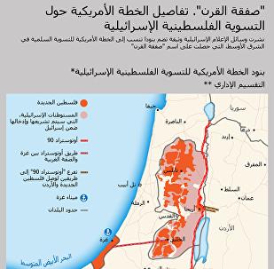 صفقة القرن: كيف تبدو خارطة فلسطين الجديدة
