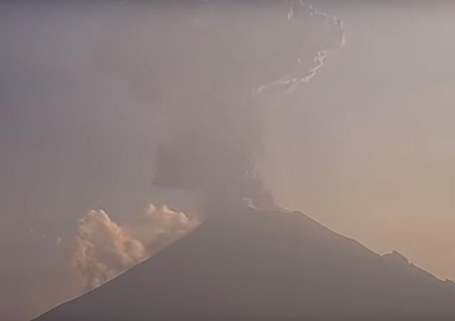بركان في المكسيك