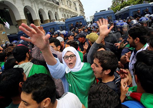 استمرار الاحتجاجات في الجزائر، 19 مايو/ أيار 2019