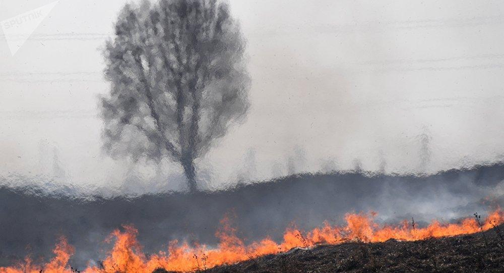 صورة تعبيرية لحريق