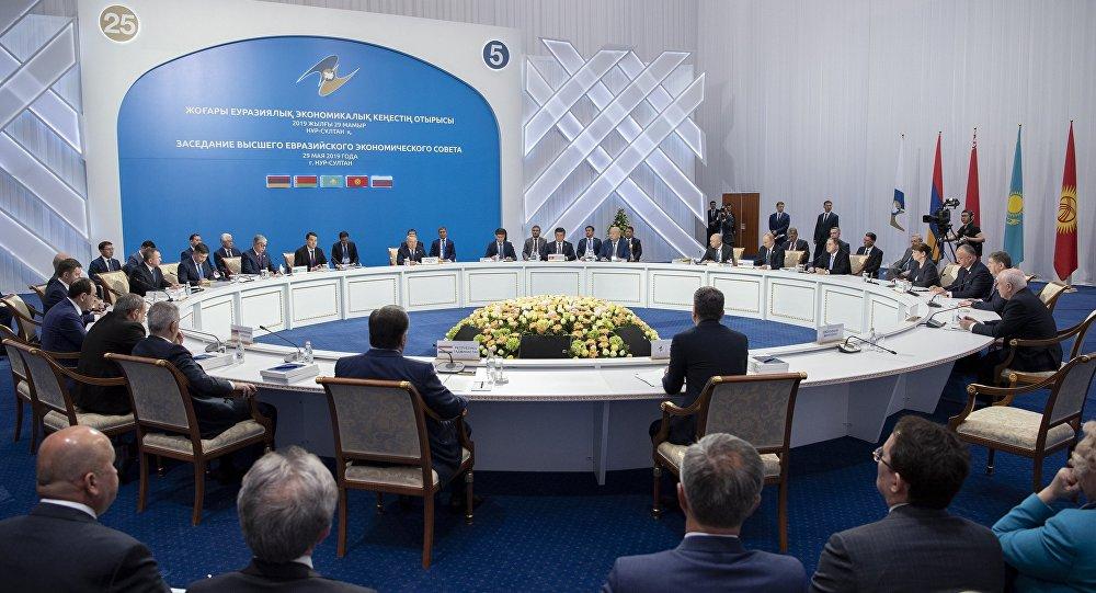 اجتماع قمة الاتحاد الأوراسي