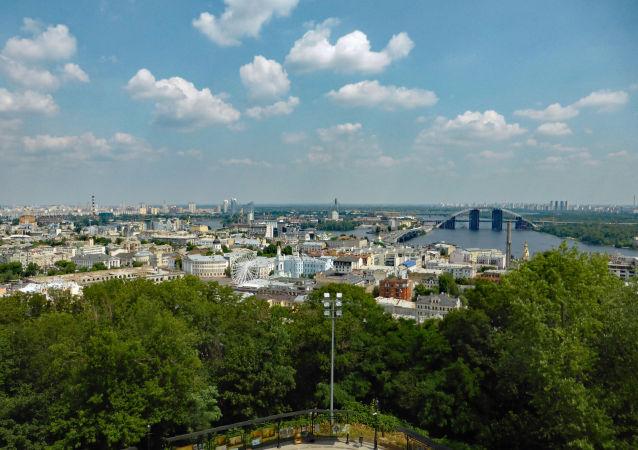 منظر لمدينة كييف من كنيسة أندريه
