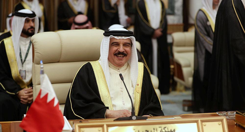 ملك البحرين الشيخ حمد بن عيسى آل خليفة