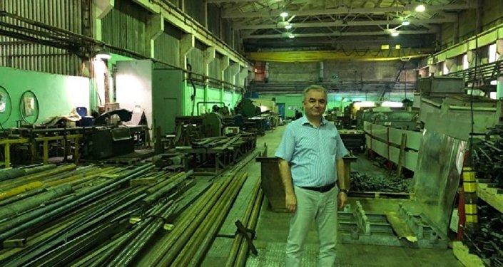 مدير شركة سوفوكريم في روسيا صالح عباس