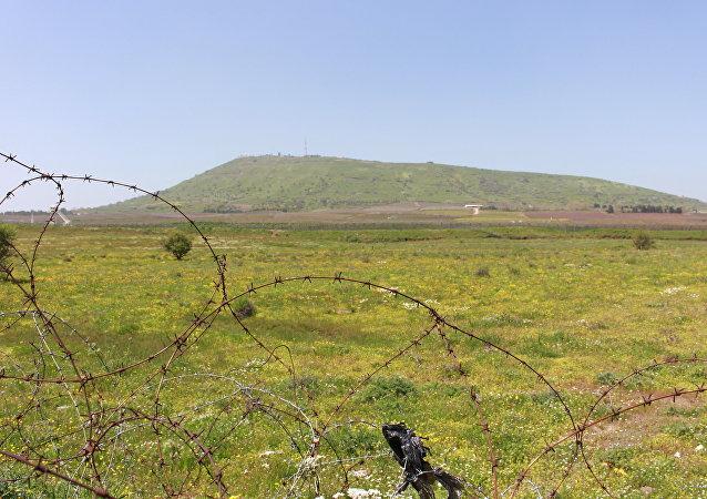 الجولان السوري المحتل يقع في جنوب سوريا