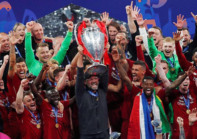 تتويج ليفربول بدوري أبطال أوروبا
