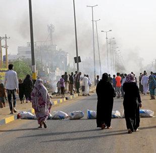 فض اعتصام القيادة العامة في السودان
