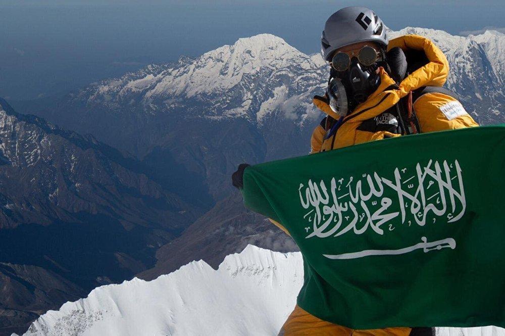 المتسلقة السعودية منى شهاب