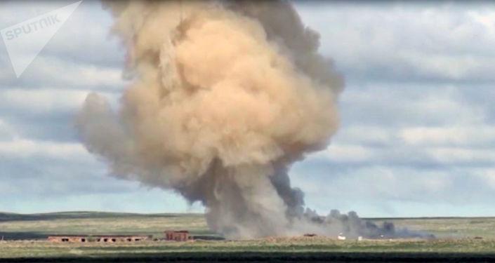 القوات الروسية تختبر صاروخا جديدا مضادا للصواريخ