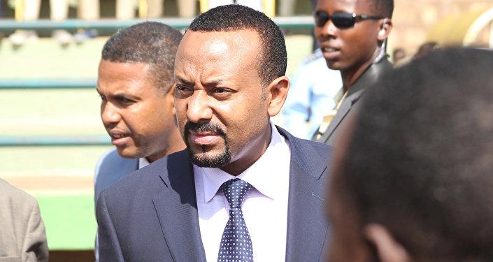 رئيس الوزراء الإثيوبي أُبي أحمد