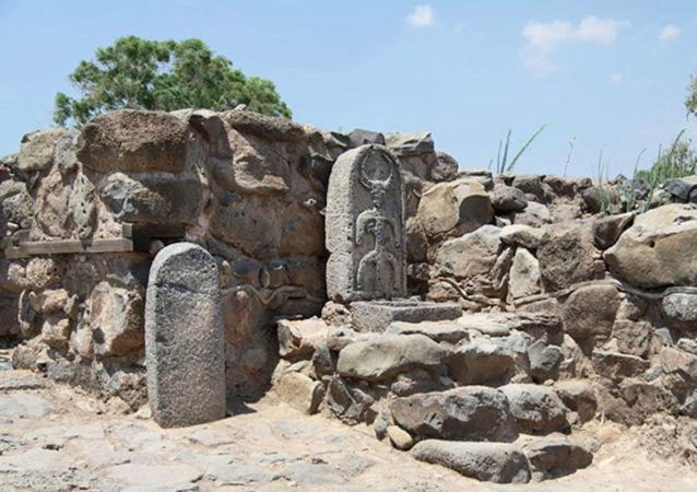 بوابات تاريخية في عهد الملك داوود في مدينة بيت صيدا