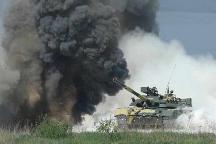 دبابة تي-80أو