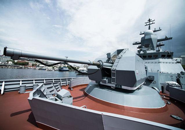 قاتلة الغواصات: سفينة من طراز كورفيت التابعة لأسطول المحيط الهادئ الروسي
