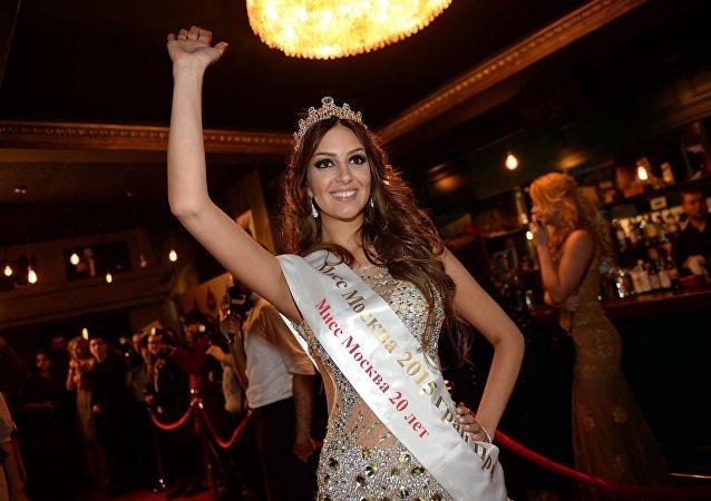 ملكة جمال موسكو أوكسانا فويفودينا