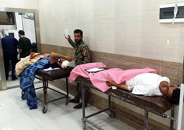 مصابون في هجوم حلب