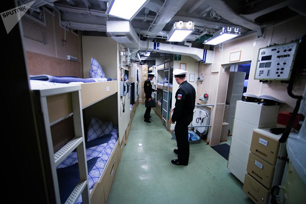 سفينة سوفيرشينيي- قاتلة الغواصات: سفينة من طراز كورفيت التابعة لأسطول المحيط الهادئ الروسي