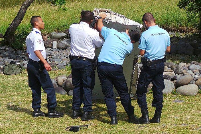 العثور على حطام طائرة في جزيرة رينيون