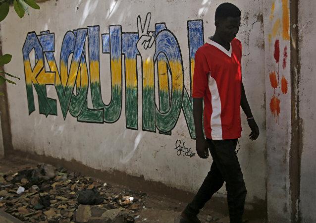 غرافيتي  في السودان