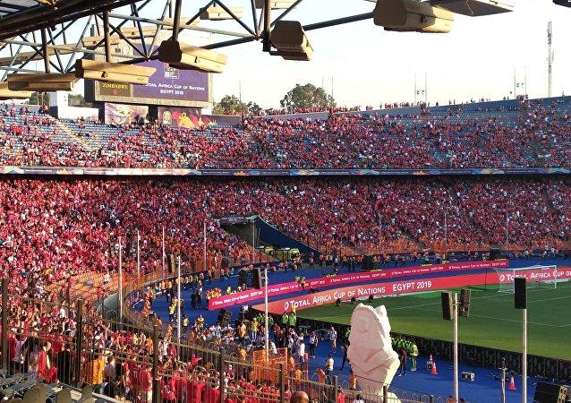 افتتاح كأس الأمم الأفريقية في استاد القاهرة الدولي