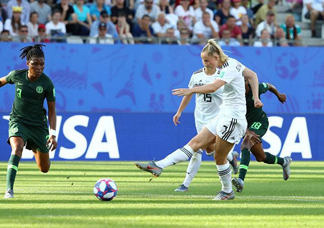 مباراة ألمانيا ونيجيريا في كأس العالم للسيدات، 22 يونيو/حزيران 2019