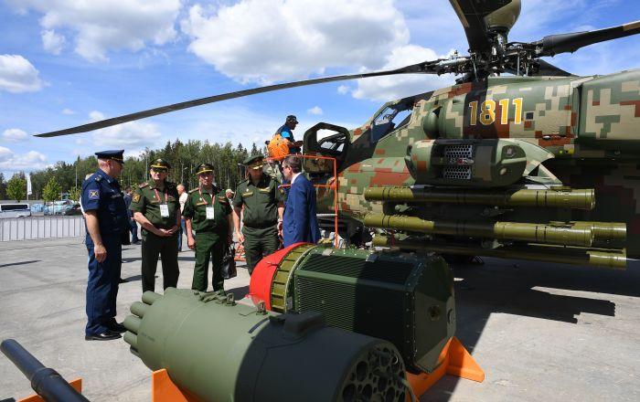 """مشاركة 190 فريقا عسكريا من 28 دولة في منتدى """"أرميا- 2020"""""""