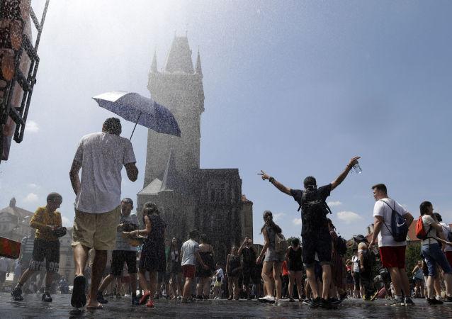 الحر في أوروبا - براغ، التشيك 25 يونيو/ حزيران 2019