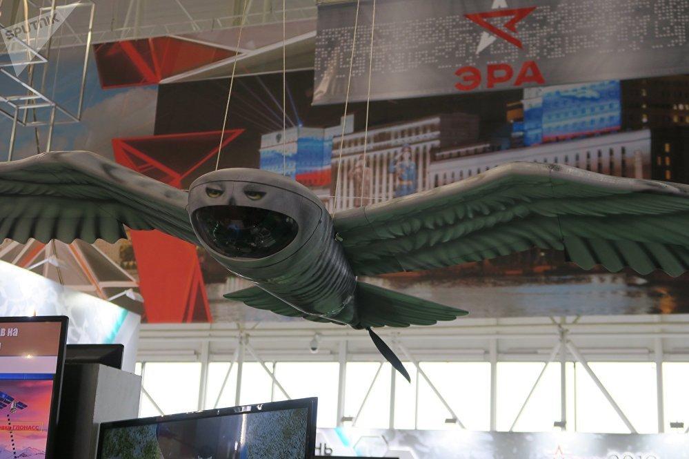 الطائرة المسيرة الروسية البومة القطبية