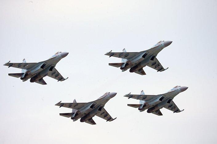 صقور روسيا - سو-35 إس