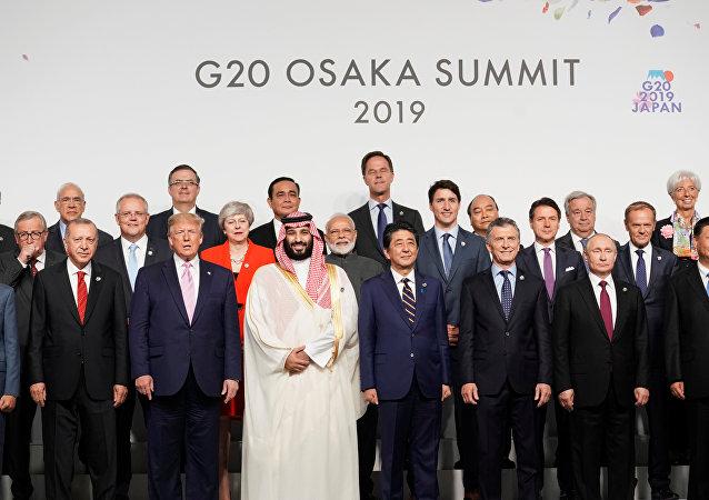 قمة قادة مجموعة العشرين في أوساكا اليابانية