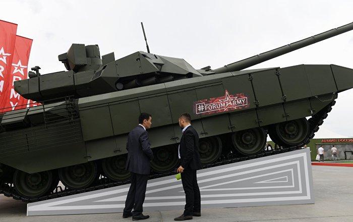 """الهند مهتمة بشراء دبابة """"أرماتا"""" الروسية"""