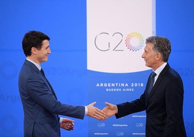 رئيس الوزراء الكندي جوستين ترودو