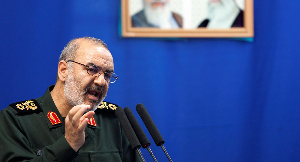 نائب القائد العام لقوات الحرس الثوري الإيراني العميد حسين سلامي