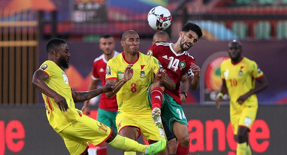 المغرب وبنين في أمم أفريقيا